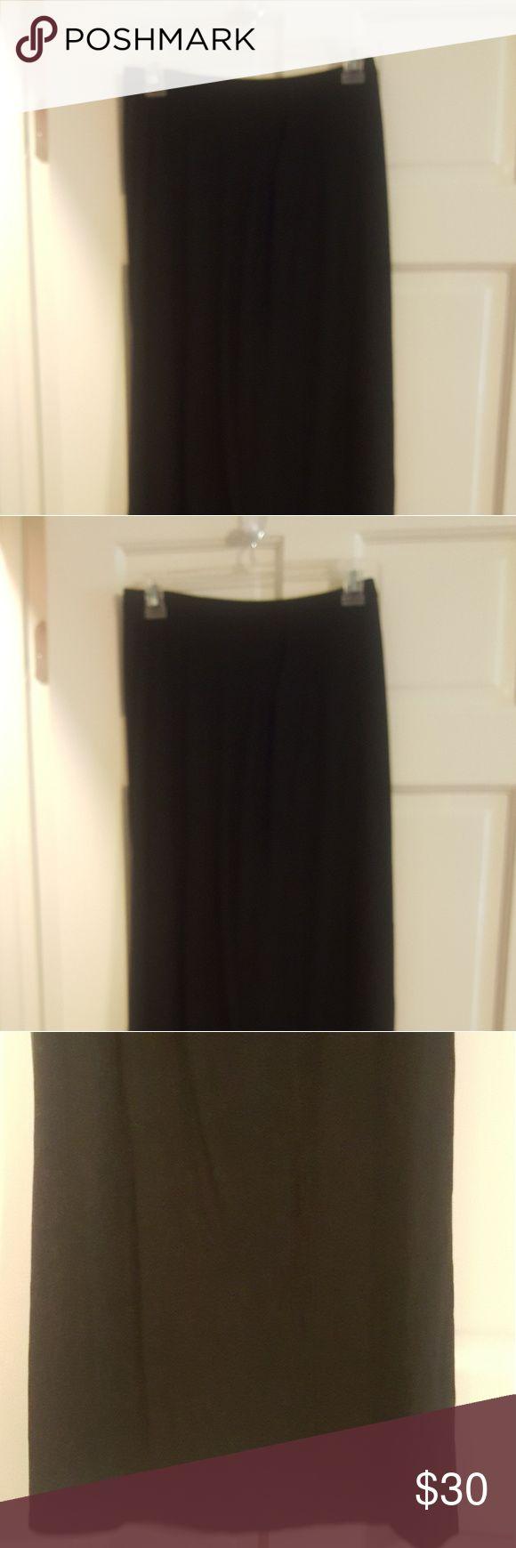 COIN Maxi Skirt Black Maxi skirt ( 94% polyester, 6% Spandex COIN  Skirts Maxi