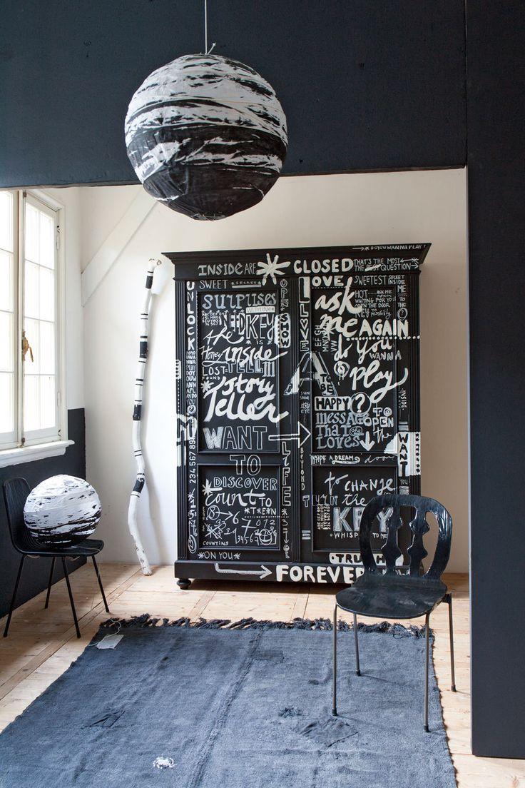Meer dan 1000 ideeën over zwarte kast op pinterest ...