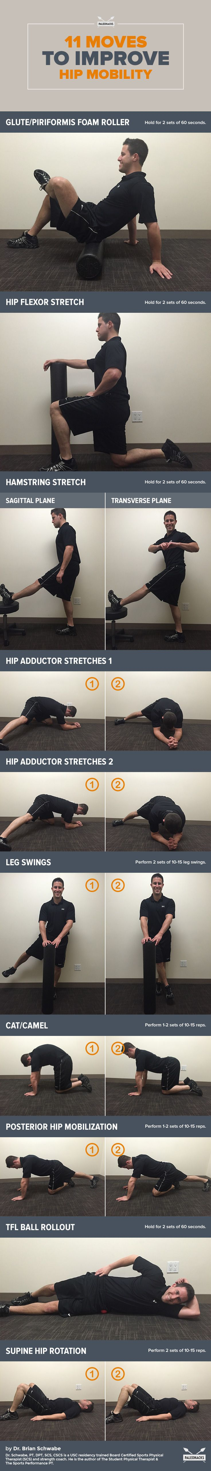 Undo the damage of sitting with these smooth moves!