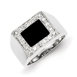Men's Rectangle Black Onyx CZ Ring In Sterling Silver Jewelry Our black onyx rings for men include mens onyx and diamond rings, men's onyx rings in yellow gold, white gold and sterling silver. Gemologica is proud to offer a premier line of men's gemstone and birthstone rings, most of which are custom made in New York City. Available Exclusively at Gemologica.com https://www.gemologica.com/mens-black-onyx-rings-c-28_46_64_104.html https://www.gemologica.com/mens-gemstone-rings-c-28_46_64.html