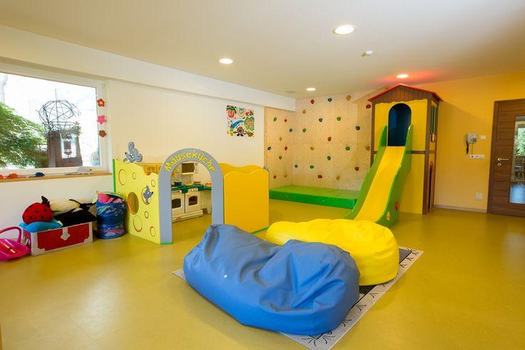 Kinderspielzimmer im Hotel Feldhof Naturns
