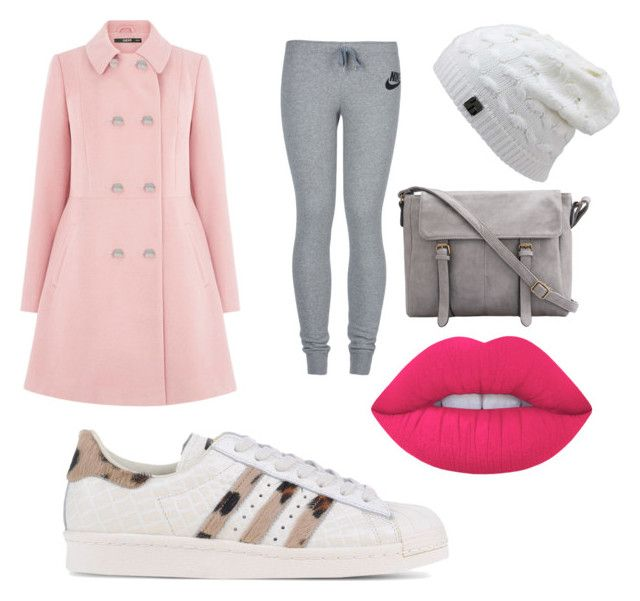 """winter"" by caoimheod on Polyvore featuring Oasis, NIKE, adidas Originals and Lime Crime"