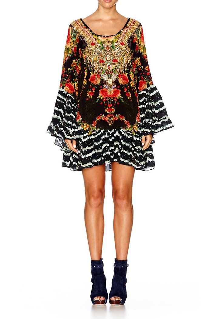 Lift the Veil A-Line Frill Dress, $600; at Camilla