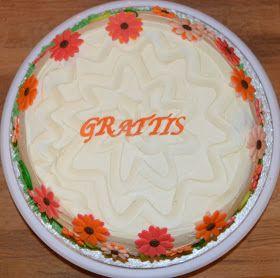Malin bakes a cake: Blommor flower cake