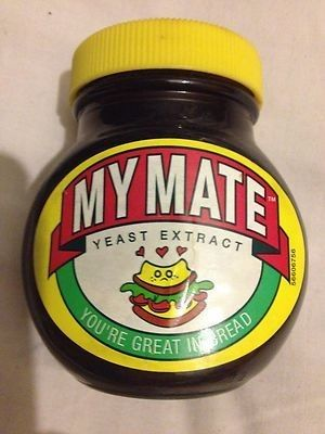 RARE DELETED MARMITE JAR  - MY MATE | #464300220