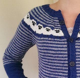 Ravelry: Angry Sheep Cardigan pattern by Pinneguri