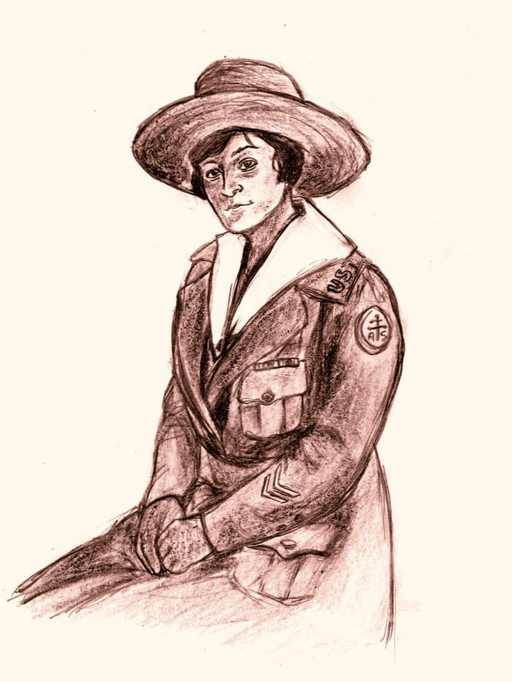 Charlotte Edith Anderson Monture was one of the fourteen Native American women who served in the US Army Nurse Corps during World War I.  Born to a Mohawk family in Ontario, Edith moved the US when she was unable to secure a place at a Canadian nursing school.  Edith graduated first in her class from the New Rochelle (NY) Hospital School of Nursing in 1914.  Although she did not train in Canada, Edith was the first Native woman from Canada to qualify as a nurse.