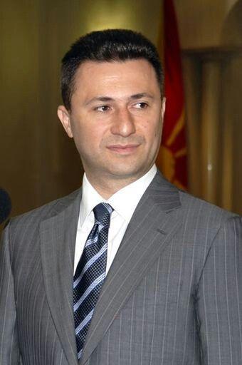Nikola Gruevski, el actual primer ministro de Macedonia.