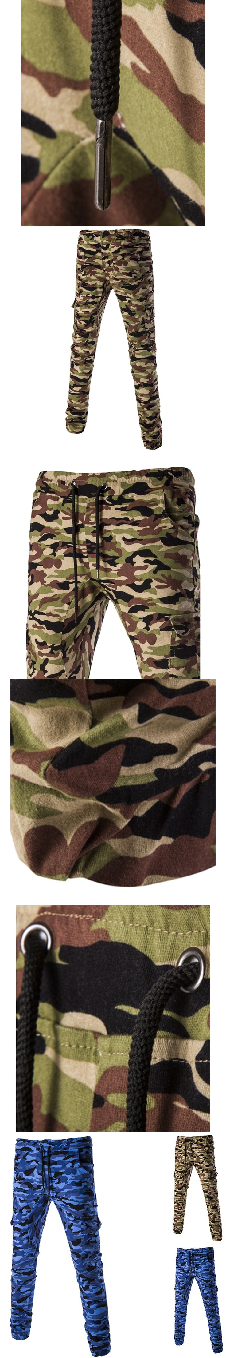 2017 New Camouflage Mens Joggers Military Slim Pants Men Outer Wear Army Sweatpants For Mens Jogger Pants Pantalones Hombre