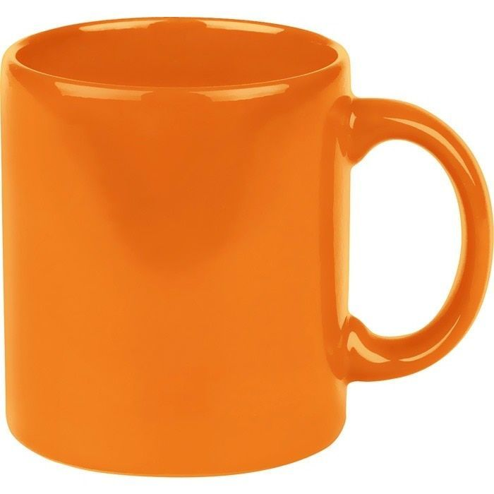 Waechtersbach Fun Factory Orange Mugs (Set of 4) (Ceramic, Solid)