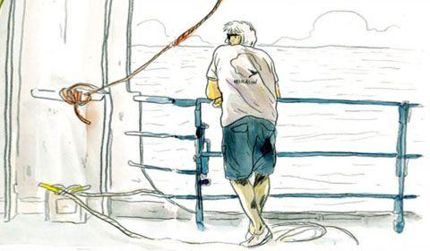 Kito de Pavant livre son carnet de bord