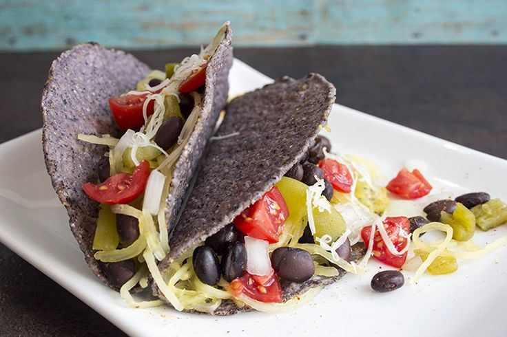 skinny spaghetti squash tacos recipe serves 5 low fat low calorie and vegetarian view of tacos already made