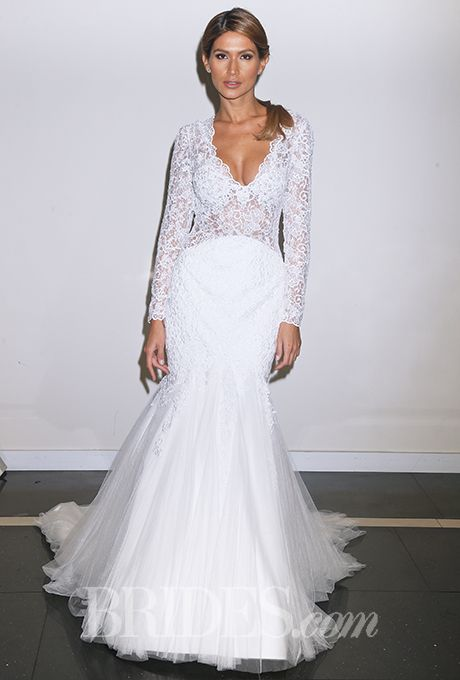 Brides: Simone Carvalli - Fall 2015. Wedding dress by Simone Carvalli