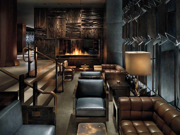 155 best Global Chic Hotel Lobbies images on Pinterest   Lobbies ...