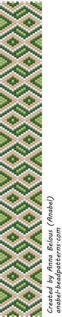 3 systemy mozaikowe wzory bransoletki / 3 wolne Peyote