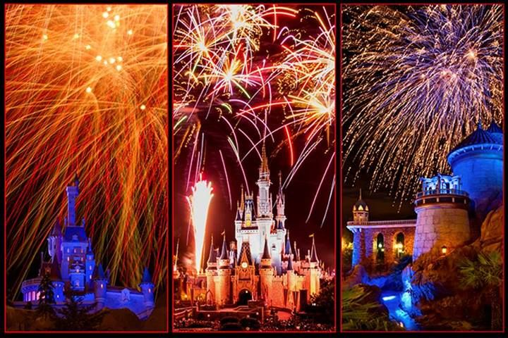 It's Independence Week, and the Disney Parks in the U.S. are celebrating with some star-spangled salutes to America in honor of our nation's 237th birthday. Check out the fireworks displays that you can enjoy on the 4th of July, as well as all year round, at the Walt Disney World and Disneyland Resorts! — Fireworks at Disney Parks (25 photos)