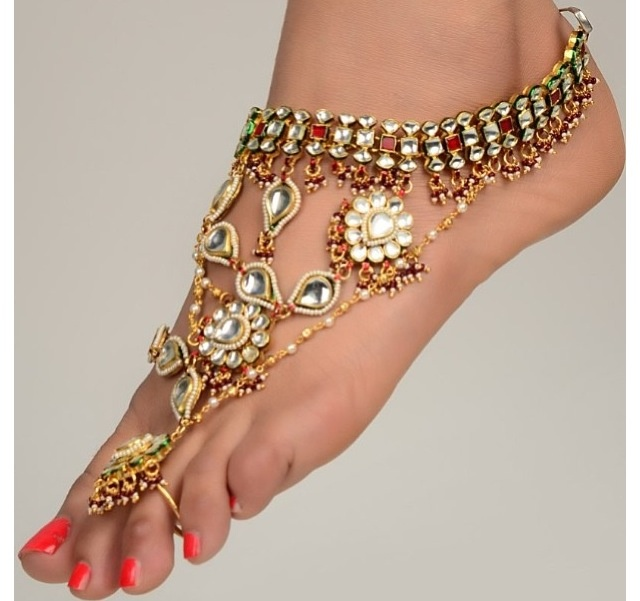 Awesome foot/ankle jewelry