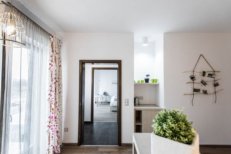 Natura Hill Zebegény, Hungary Pension interior, handmade decoration, country-modern style, Ginger room - white and sallow, wooden furnishing