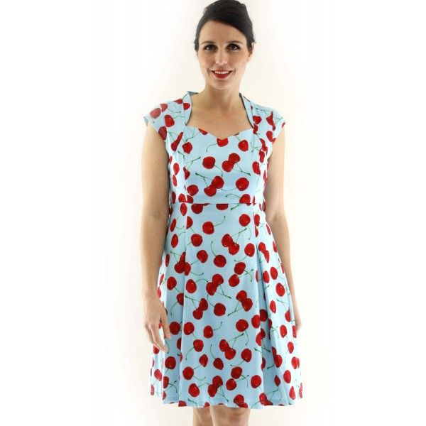 Gian Vibrant Cherry Day Dress