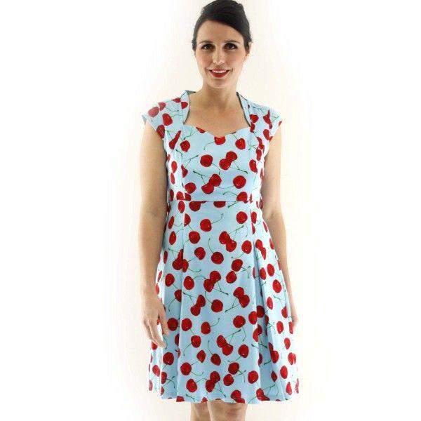 Gian Vibrant Cherry Day Dress