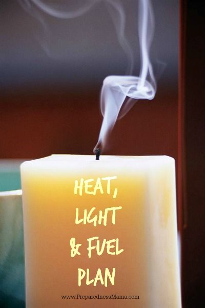 Do you have a heat, light & fuel plan for when the power goes out? | PreparednessMama