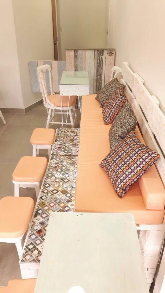 Silla pedicure #spa #pallet #palet #50plusarch #reciclado #diseño