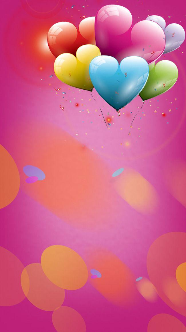 Balloon Aircraft Craft Birthday Background In 2020 Birthday
