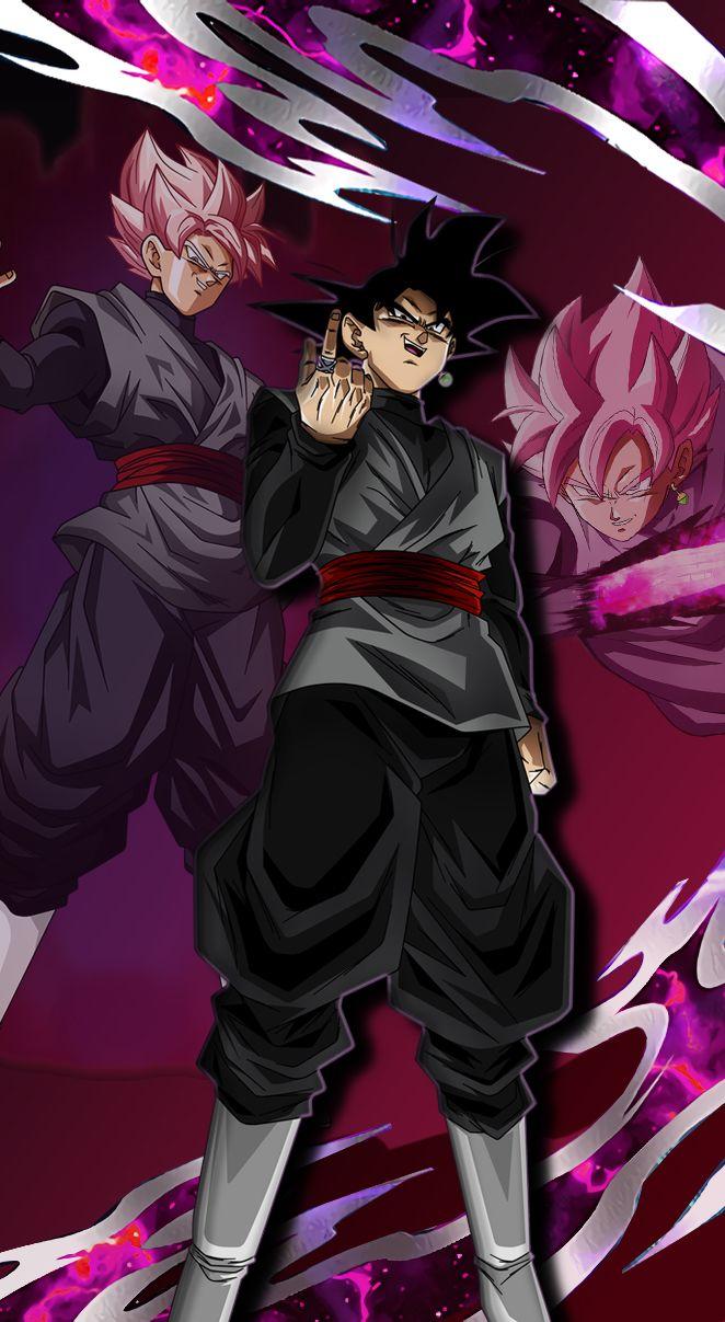 Dragonball Dragonballsuper Blackgoku Goku Gokublack Rose Dbs