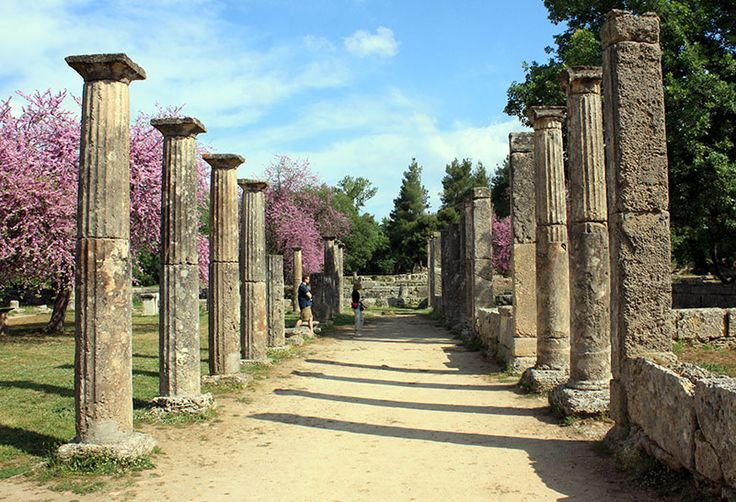 Olympic 776 BC - Palestra @ Olympia, Greece