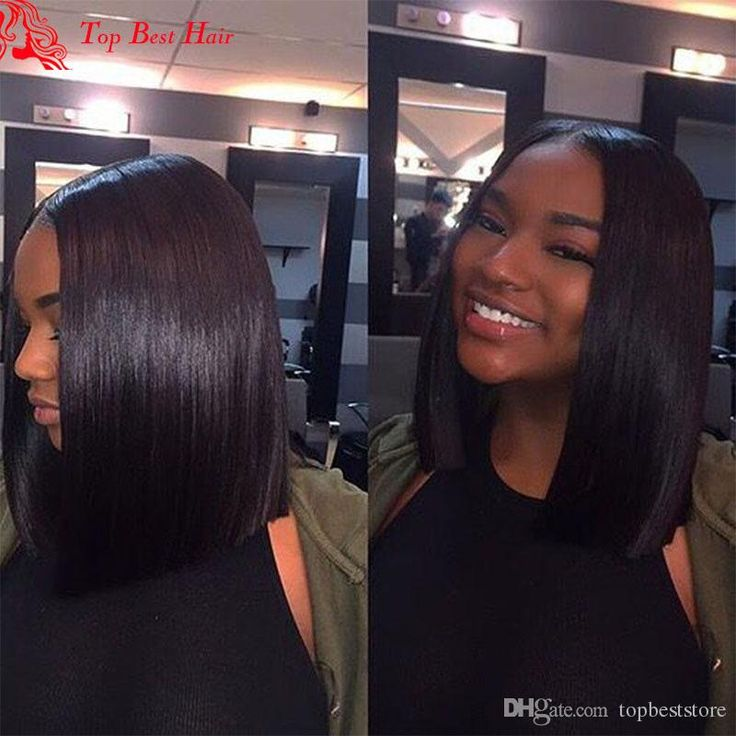 Best Short Cut Straight Bob Wig Glueless African American Short Wigs Human Hair Brazilian Lace Front African American Bob Wigs Middle Part Straight Bob Wig African American Bob Wigs African American Short Wigs Human Hair Online with $646.88/Piece on Topbeststore's Store | DHgate.com