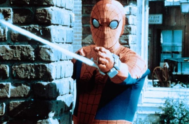 Marvel in film n°1 - 1977 - The Amazing Spider-Man - Nicholas Hammond as Spiderman ®... #{T.R.L.}