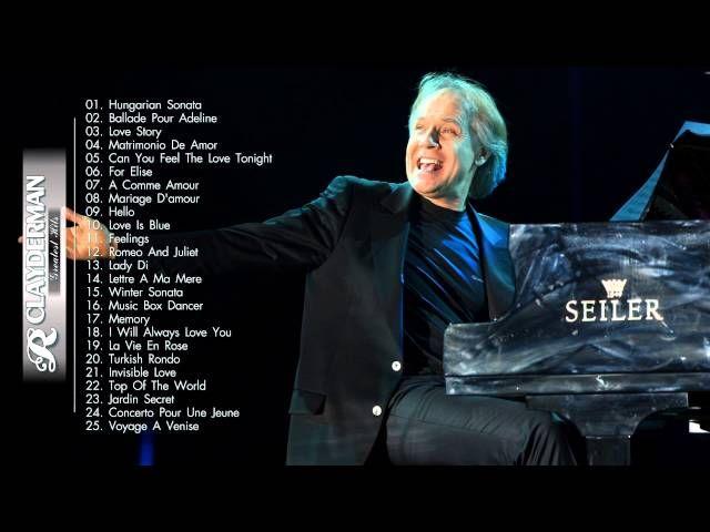 The Best Of Richard Clayderman | Richard Clayderman  Playlist