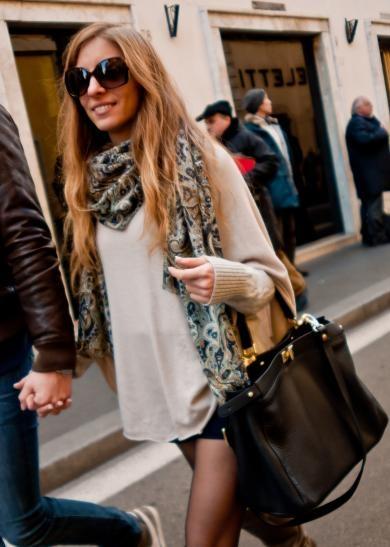Casula Style On Via Della Croche Rome The Street Fashion Monitor Italy Pinterest
