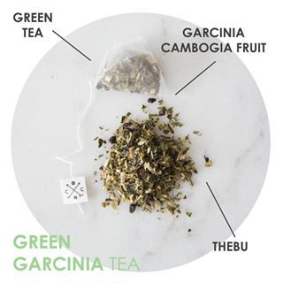 What's in our GREEN GARCINIA TEA? Green Tea - Increases fat burning - Increases physical performance - Contains a high proportion of antioxidants - Improves mental alertness & cognitive ability Garcinia Cambogia Fruit - Inhibits fat production - Helps curb your appetite Thebu - Can reduce blood sugar levels. Formulated with these ingredients to help curb your appetite & boost your metabolism, it's the perfect tea to accompany your weight loss goals. Shop at www.coffeenotcoffee.com.au