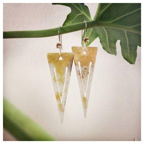 Earrings by Julie Levasseur of Cyanure Design