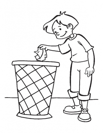 Keeping earth clean is the duty of every citizen coloring page | Download Free Keeping earth clean is the duty of every citizen coloring page for kids | Best Coloring Pages