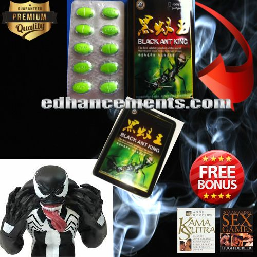 The primary ingredient in black ant pills is the black ants. They are used in the formulations together with other items.Buy Here Get Free Sex Ebook- 10%off