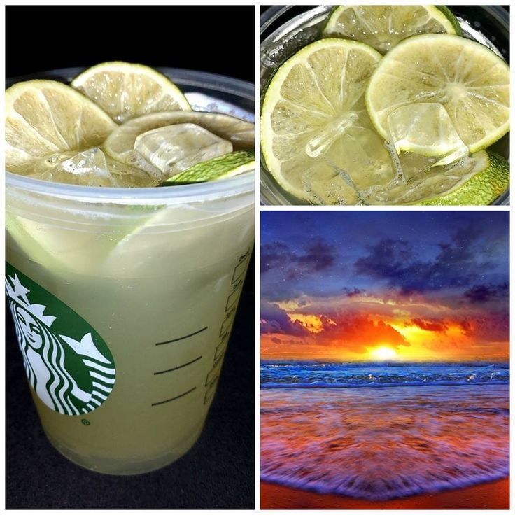 Sunset Refresher (Secret Starbucks Menu)