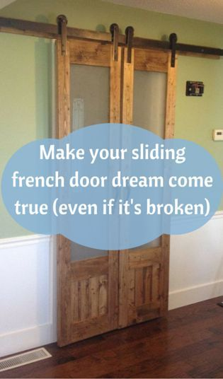 Make Your Sliding French Door Dream Come True (Even If You're Broke)