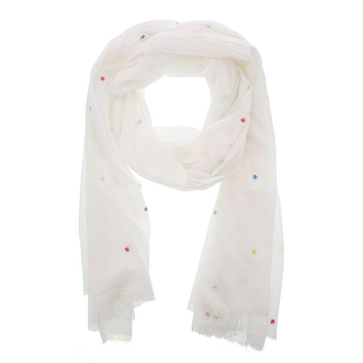 Witte sjaal met stippen van Otra Cosa – 1663