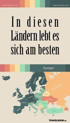 Es ist der Traum vieler: auswandern, um woanders ein neues, besseres Leben zu beginnen. Doch eine Karte zeigt, dass es aus deutscher Sicht kaum besser geht. Nur in zwei Ländern ist die Lebensqualität scheinbar noch höher. Welche das sind und warum man die Karte trotzdem kritisch betrachten muss.