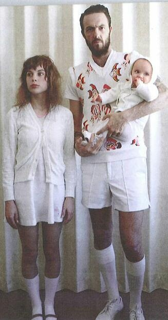 Watkin Tudor Jones & Anri du Toit - aka 'Die Antwoord' with daughter Sixteen!