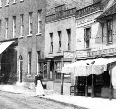 The Mitre - High Barnet - 1887