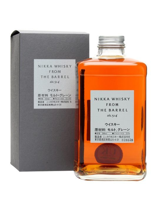 Nikka from the Barrel is big-boned and bursting with character.  Not averse to a drop of water, either. A real star, winning top prize in its category at the World Whisky Awards in 2007 and 2010.