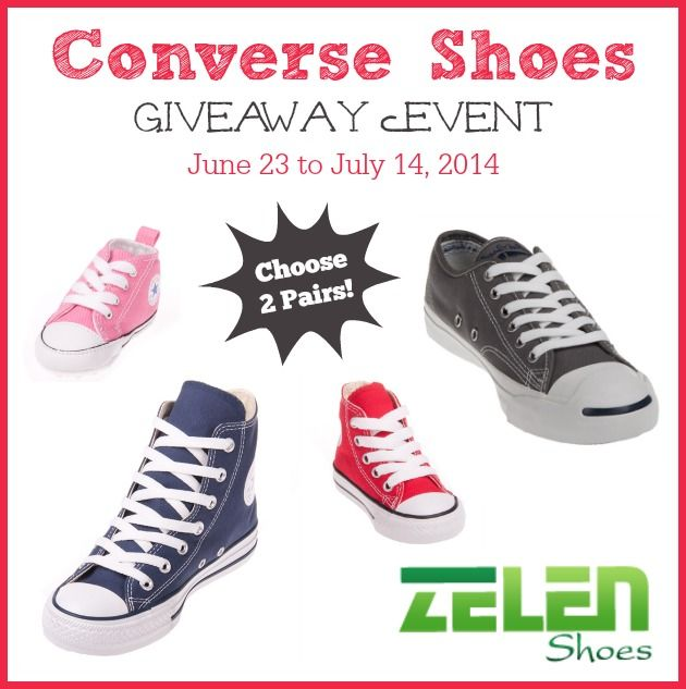 Win 2 Pairs of Converse Shoes from Zelen Shoes! #conversevancouver - mapsgirl.ca