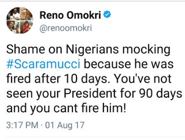Lol. Between Reno Omokri and a twitter users http://ift.tt/2uXTbUT