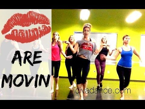 """Lips are Movin"" by Meghan Trainor.  DIVA DANCE FITNESS, similar to Zumba"