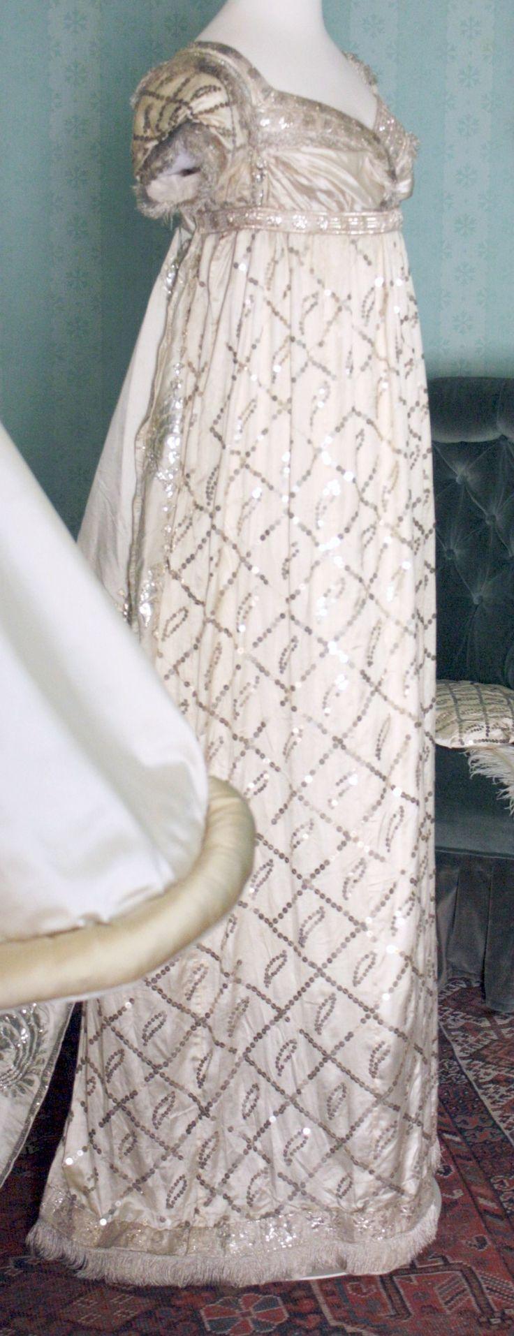 Regency gown at Saltram House
