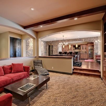 38 Best Step Down Living Rooms Images On Pinterest Sunken Living Room Living Room And