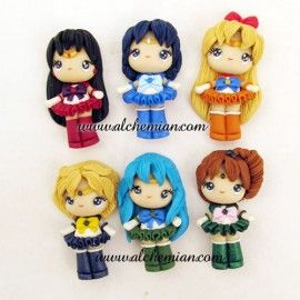 Polymer Clay Figures